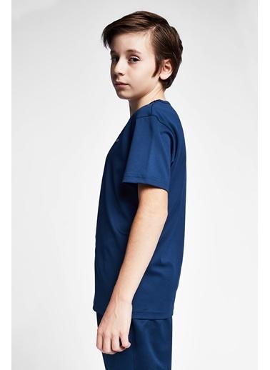 Lescon Safir Mavi Çocuk T-Shirt 20S-3249-20B Mavi